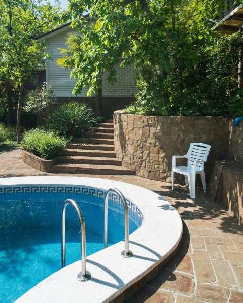 Дом с бассейном и сауной в Ялте фото 14