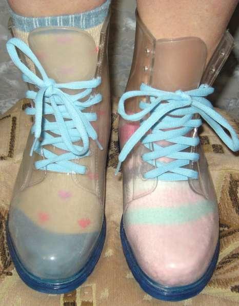 Силиконовые ботинки от дождя