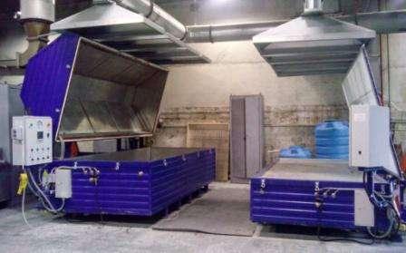 Пресс-вакуумные сушильные камеры для термодревесины