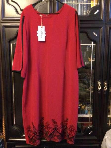 Женское платье на 54 р