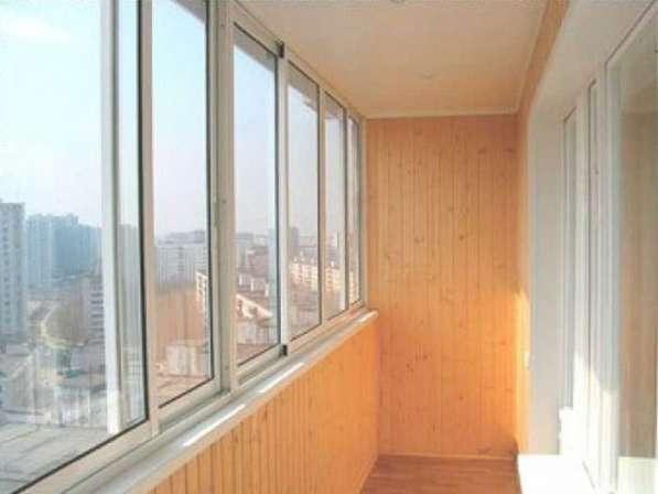 Остекление и утепление балкона в Иркутске фото 3