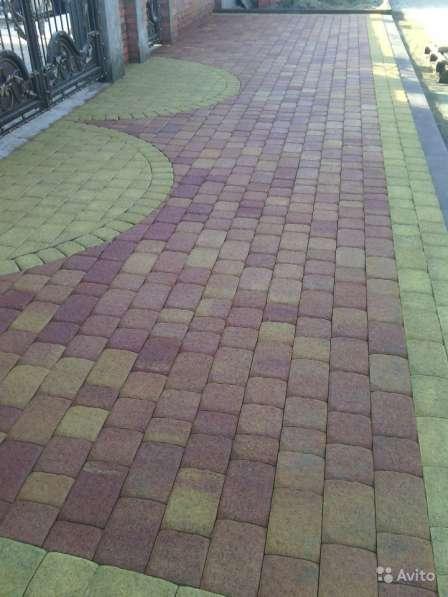 Укладка тротуарной плитки. Быстро и качественно