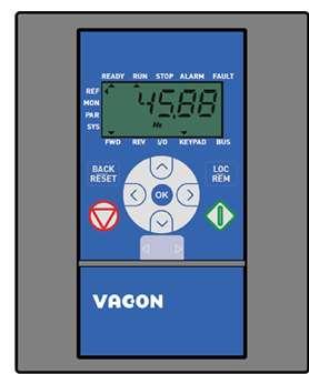 Преобразователь частоты Vacon0020-3L-0023-4+DLRU