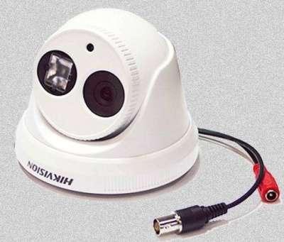 уличную купольную камеру 580ТВЛ ночь 30м Hikvision DS-2CE5672P-IT3P