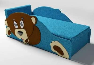Тедди диванчик-кровать синий Диван - кр