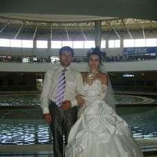 Свадебное платье размер 44-46 в хорошем состоянии недорого