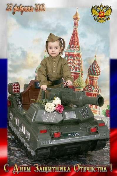 Фотосессия тема военные и весенняя