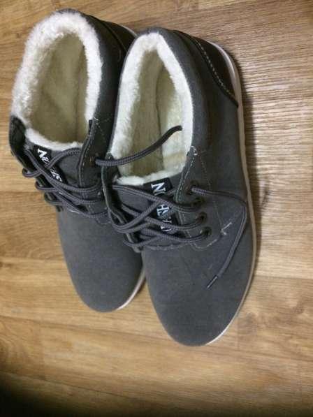 Кеды на меху /ботинки/ мужские новые