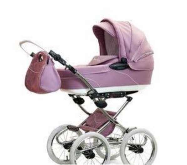 Детская коляска для девочки 2 в 1