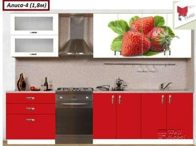 Кухни с фотопечатью Тереньгульская мебельная