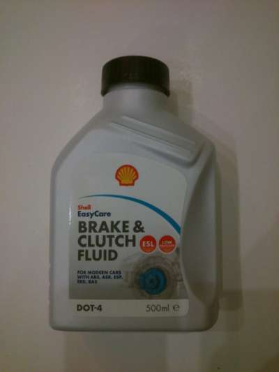 автозапчасти Shell Brake Clutch Fluid