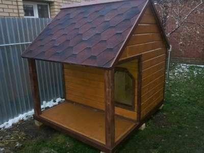 домики, будки, вольеры для собак и други