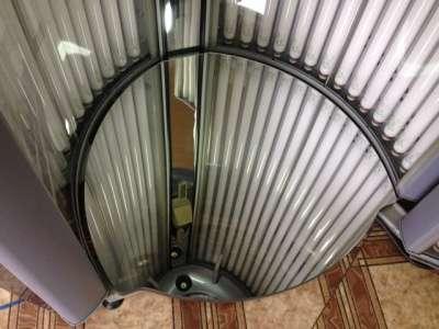 Зеркальный пол для солярия