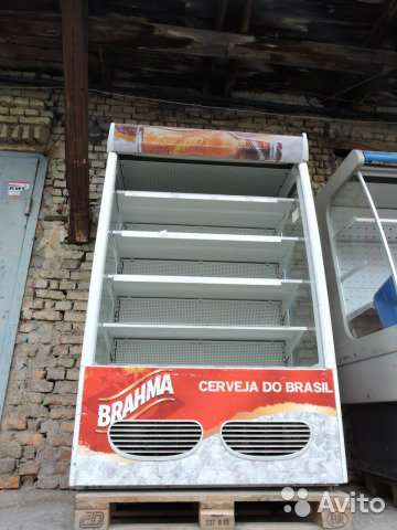 торговое оборудование Холодильная горка б/у