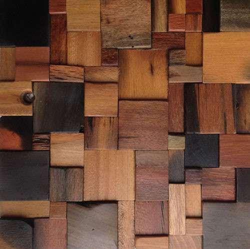 Мозаика из корабельного дерева