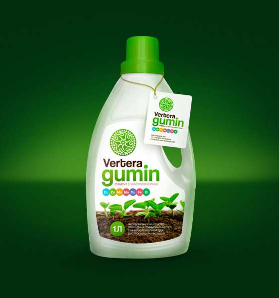 Экоудобрение Vertera-gumin