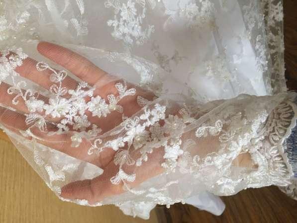 Эксклюзивное свадебное платье в Мичуринске