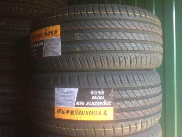 Новые шины 235/45R18