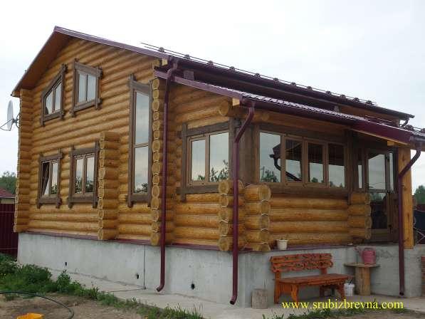 Рубленные дома и бани из бревна
