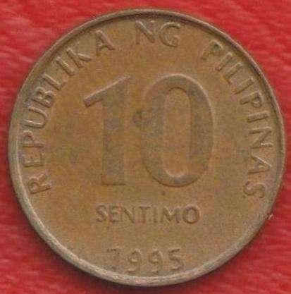 Филиппины 10 сентимо 1995 г.