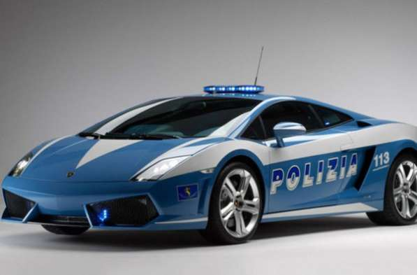 полицейские машины мира №20 LAMBORGHINI GALLARDO