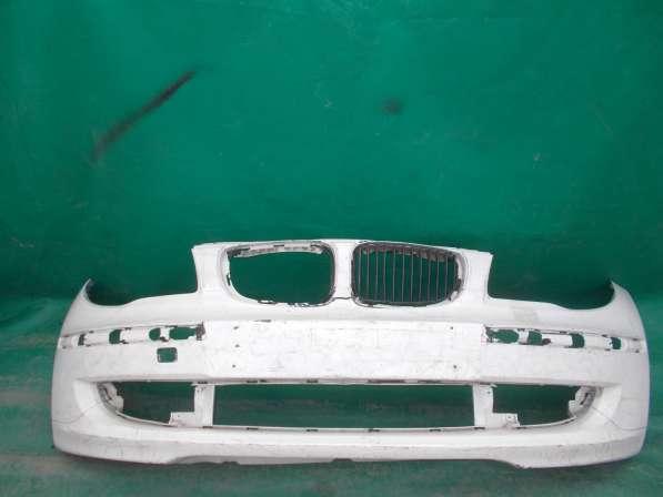 Бампер белый БМВ е87