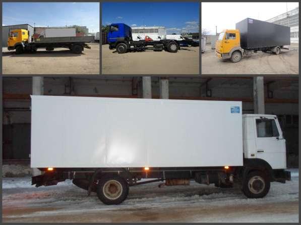 Переоборудование грузового автомобиля КАМАЗ, МАЗ