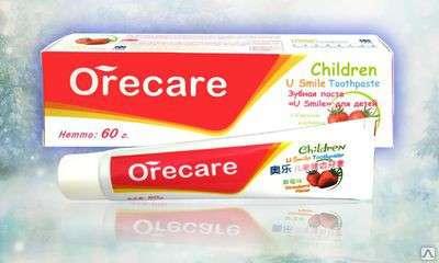 Натуральная детская зубная паста