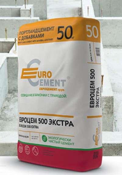 Цемент марки 500 в мешках 50кг. по оптимальной цене