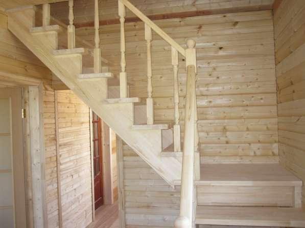 Деревянные лестницы на в Орле