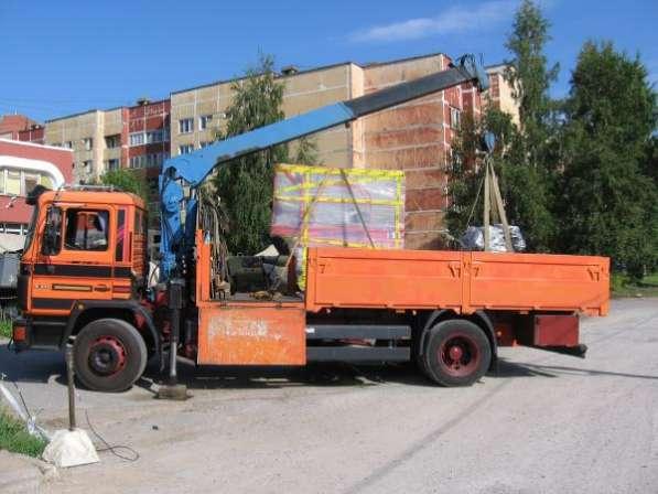 Манипулятор доставка разгрузка груза Санкт-Петербург.
