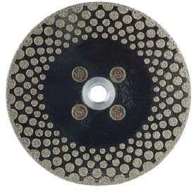 Круг алмазный (EDLB40C150) для резки и шлифовки мрамора М14 диам. 150мм