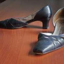 Черные туфли из натуральной кожи Питер Кайзер, в Екатеринбурге