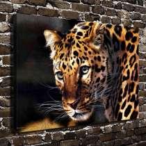 Картина-принт на холсте Леопард, в г.Бишкек