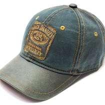 Бейсболка кепка Jack Daniels мужская хлопок, в г.Москва
