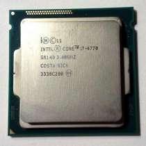 Продаю процессор intel core I7 4770, в Москве
