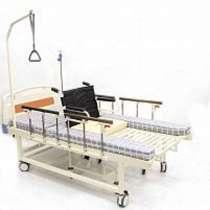 Кровать медицинская функциональная с туалетом и креслом, в г.Костанай