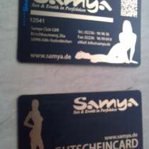 3 saunaclubcard SAMYA- Köln, в г.Кёльн