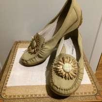 Туфли женские, кожзам «под замшу», размер 40, в Нижнем Новгороде