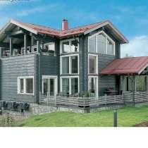 Строительство домов из бруса по финской технологии, в Нижнем Новгороде