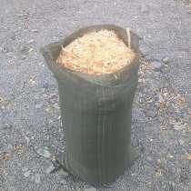 Древесная стружка от производителя расфасованная в мешки, в Дмитрове