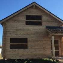 Дом-баня из дерева 8*10 м. с крыльцом, в Тюмени