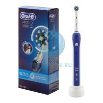 Braun Oral-B PRO 2 2000 CrossAction, в Москве