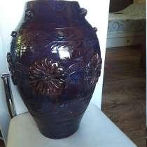 Большая керамическая ваза -высота 43см, в Королёве