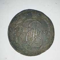 Монета 1769 года, в г.Буча
