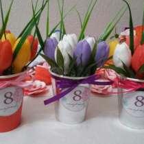 Тюльпаны - мыло ручной работы, в Орске