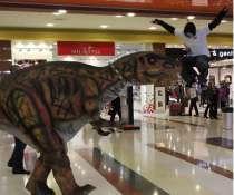 Роботизированный костюм динозавра с множеством функций, в Санкт-Петербурге