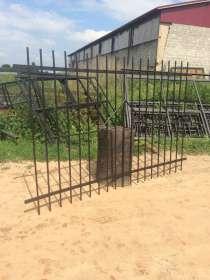 Заборная секция с сеткой, в Костроме