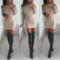 Платье трикотажное, теплое, в г.Днепропетровск