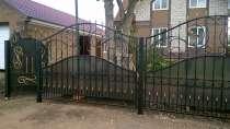 Кованные ворота, в Уфе
